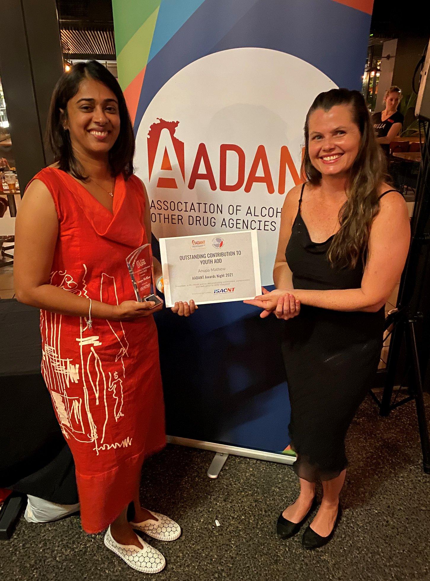 AADANT Award winners